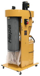 PM2200 Cyclonic Dust Collector - with HEPA Filter Kit