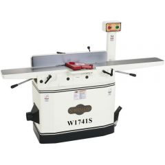 """W1741H 8"""" Jointer with Adjustable Beds and Spiral Cutterhead"""