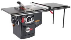 """SawStop 10"""" Industrial Cabinet Saw w/ 36"""" T-Glide Fence Assembly, 5hp,3ph,480v"""
