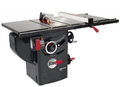 """SawStop 10"""" Professional Cabinet Saw, 1.75hp/1ph/110v, with 30"""" Premium Fence System, Rails & Extension Table"""