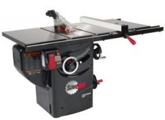 """SawStop 10"""" Professional Cabinet Saw, 1.75hp/1ph/110v, with 36"""" Professional T-Glide Fence System, Rails & Extension Table"""