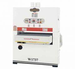 W1737 SHOP FOX® 37 inch Wide-Belt Sander-Single-Phase