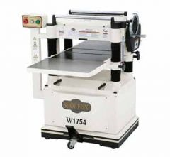 W1754 SHOP FOX® 20 inch Planer with Built In Mobile Base