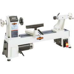 """W1856 12"""" x 18"""" Variable Speed Benchtop Wood Lathe"""