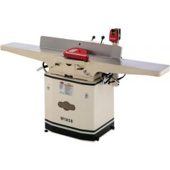 """W1858 8"""" Dovetail Jointer with Helical Cutterhead & Mobile Base"""
