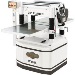 """W1865 20"""" Planer with Helical Cutterhead, 5HP"""